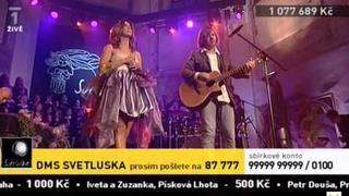 Aneta Langerová ft Michal Hrůza - Plamen (LIVE - Světluška)