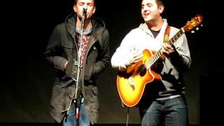 Anthony Raneri & Vinnie Caruana - The Walking Wounded (Live Acoustic 2/6/09 @ The Westcott Theater)