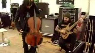 Apocalyptica 'Duelling Cello'