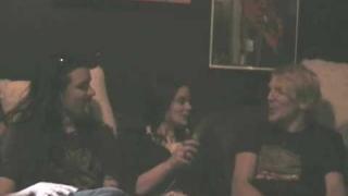 Apocalyptica Interview with Colette Claire April 08 part 1