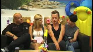 Aqua interview after their performance @ The Dome 51 (Cologne)