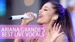 Ariana Grande-Best live vocals