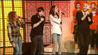 """Arielle Dombasle - """"Des Ricochets"""" (La Chorale Des Petits Chanteurs) 28/12/11"""