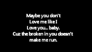 Ashlee Simpson - Say Goodbye Lyrics