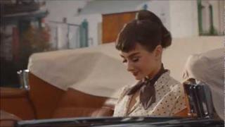 Audrey Hepburn Starring in Galaxy Chocolate UK TV Advertisement