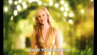 Avon gold lipstick