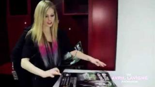 "Avril Lavigne - ""Support for People with Disabilities"" Behind the Scene (Part 1)"