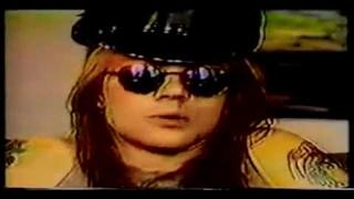 Axl Rose & Slash Interview 1988 (Part 1/2) [HD]