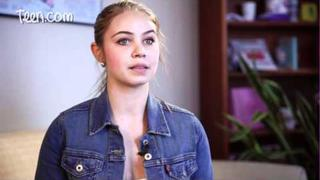 Ayla Kell from Make It or Break It's Talks Celeb Crushes