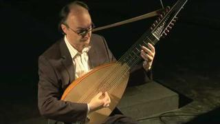 Bach, Sarabande (BWV 996), Andreas Martin, Lute, HD