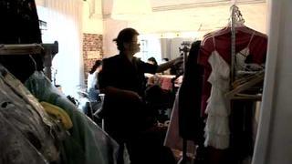 Backstage focení pro Las Oreiro - kolekce jaro/léto 2009-2010