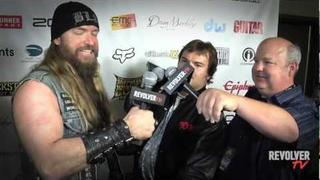 Backstage with Zakk Wylde and Tenacious D at Golden Gods