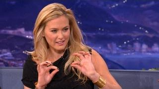 Bar Refaeli Knows A LOT About Underwear - CONAN on TBS