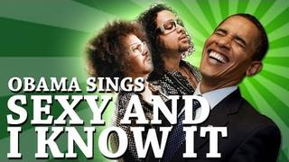 Barack Obama Singing Sexy and I Know It by LMFAO [OFFICIAL]