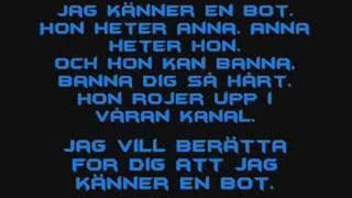 Basshunter - Boten Anna Lyrics Video