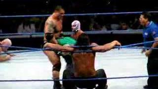 Batista & Rey Mysterio VS Finlay & The Great Khali (Final)