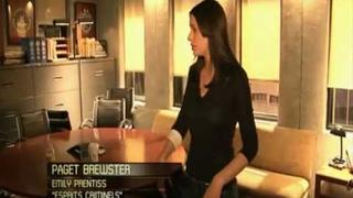 Behind the scenes of criminal minds with Paget Brewster