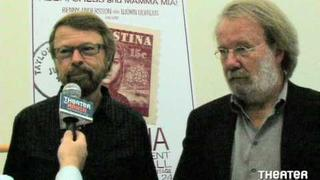 Benny Andersson and Bjorn Ulvaeus Interview about Kristian at Carnegie Hall