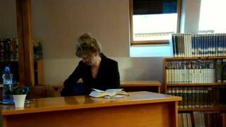 Beseda s Markétou Harasimovou, Krnov