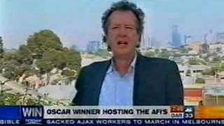 Best bit of Geoffrey Rush at 2006 AFI Awards part 1