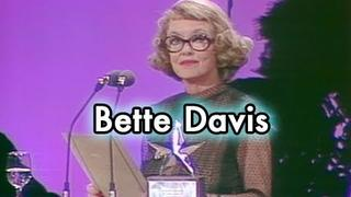 Bette Davis Accepts the AFI Life Achievement Award