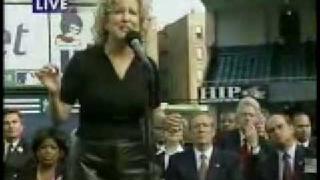 Bette Midler - Wind Beneath My Wings - Yankee Stadium 2001