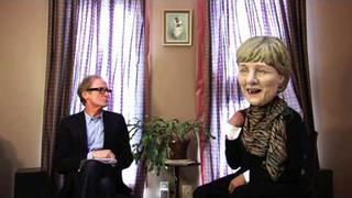 Bill Nighy interviews the Oxfam G8 Big Heads
