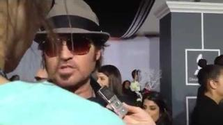 Billy Ray Cyrus talks about Miley at the 2012 Grammy Awards