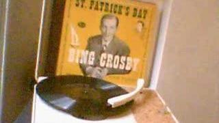 "Bing Crosby ""When Irish Eyes Are Smiling"" 78"