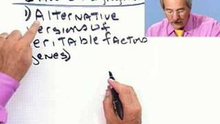 Biology: Mendel: Alternate Alleles