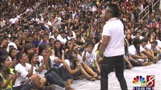 Black Eyed Peas apl.de.ap inspires Waipahu students