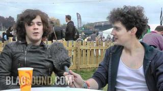 BlagSound.com - Kyle Falconer (The View) interview at Reading Festival 2011