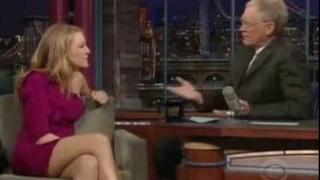 Blake Lively On Letterman 3 24 09