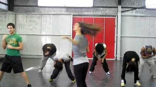 "Blast From The Past: 16 year old Victoria Justice Rehearses ""Make It Shine"" Dance"