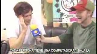 blink182 en mexico (entrevista a tom)