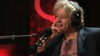 Bob Geldof on Q TV
