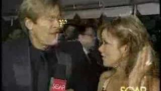 Bobbie Eakes interviews Jack Wagner during 2005 Emmys