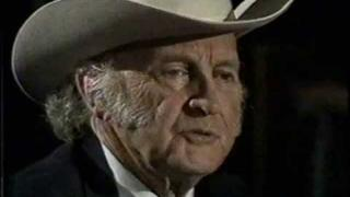 Bobby Bare Interviews Bill Monroe Part1