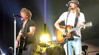 Bon Jovi & Kid Rock ~ Wanted Dead Or Alive ~ Auburn Hills 2010-03-17