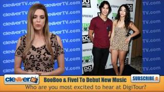 BooBoo & Fivel Stewart Debut New Music On DigiTour