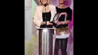 Brand New Agnetha Faltskog 2012 Pictures! (ELLE GALAN FASHION AWARDS 13.01.2012)