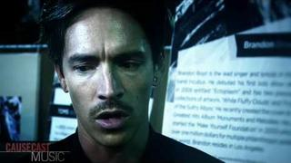 "Brandon Boyd ""What does Peace mean?"" (INTERVIEW)"