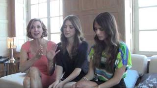 Brenda Strong, Julie Gonzalo, Jordana Brewster Interview 201