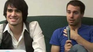 Brendon Urie And Jon Walker Interview (most see)