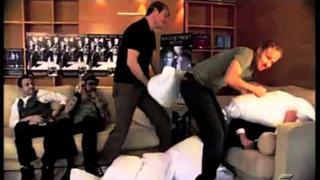 Brian Littrell & Nick Carter - At The Beginning [Frick & Frack] ( Brittney Littrell & Kenzie Carter)