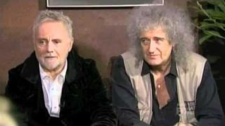 Brian May and Roger Taylor chat with finalists 25 April 2012