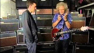 Brian May on Vox AC30s