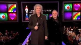 Brian May & Roger Taylor present Brit Award Best Int'l Group 2012