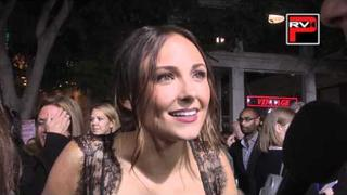 Briana Evigan interview at the LA Premiere of Footloose