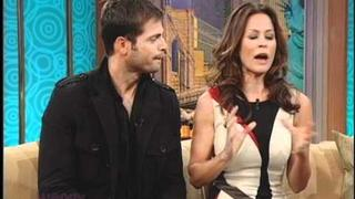 Brooke Burke and David Charvet on The Wendy Williams Show